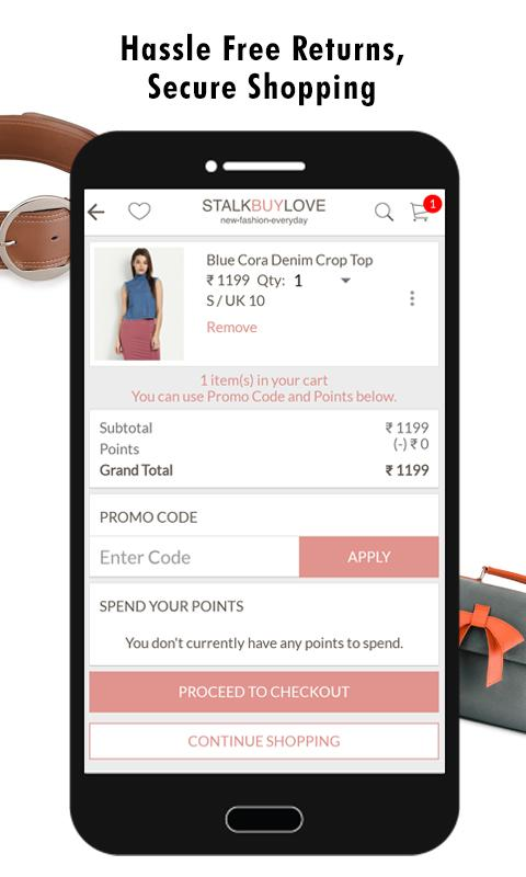 StalkBuyLove - Women Fashion- screenshot