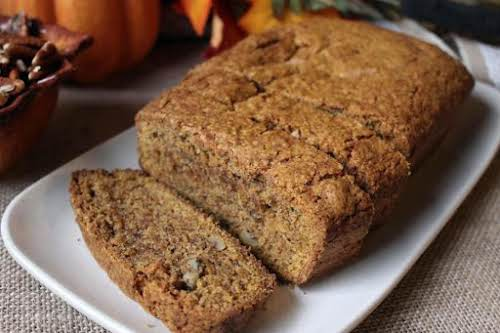 "Old Fashioned Pumpkin Bread ""Yummy! This is a simple, old fashioned, no..."