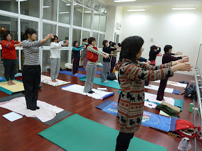 Photo: 20110316健康活力瑜珈006