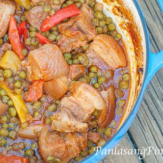 Dutch Oven Pork Stew
