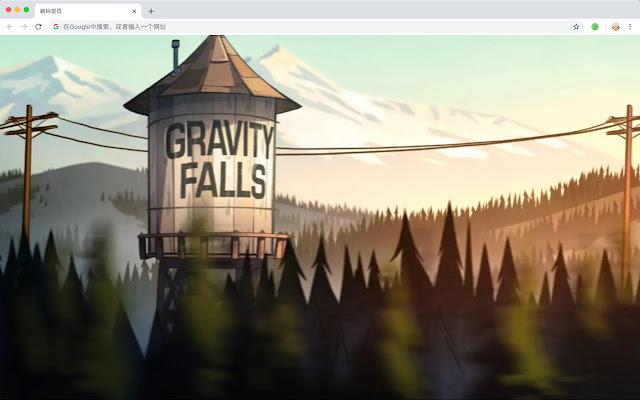 gravityfalls HD Wallpapers New Tab Pop Theme