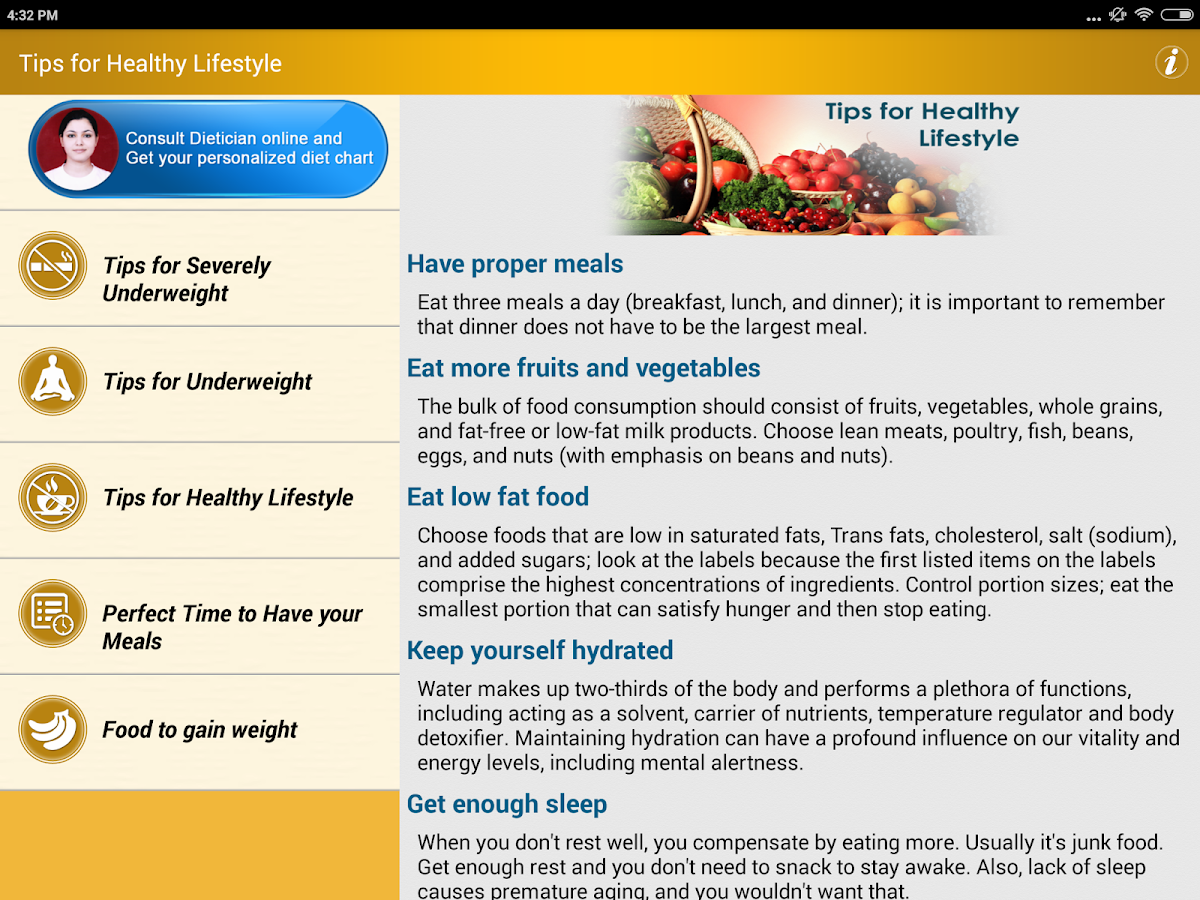 Basic healthy eating plan - Weight Gain Diet Plan Foods Screenshot