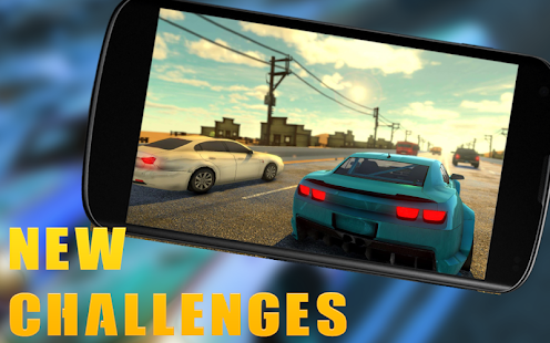 Real In Car City Highway Traffic Racer Speed Drift - náhled