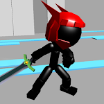 Stickman Sword Fighting 3D Icon