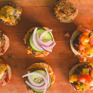 Spicy Veggie Burger Slider Trio