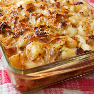 Polish Cabbage, Potato, and Bacon Casserole