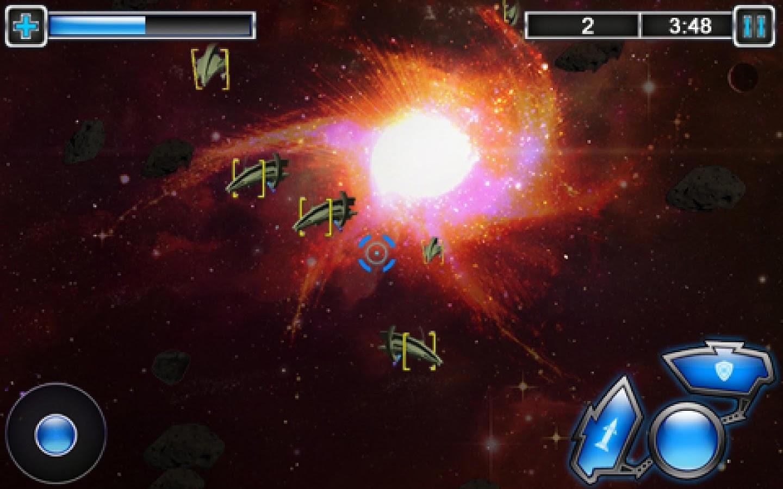 Cosmo Combat 3D- screenshot
