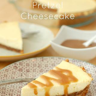 Salted Caramel-Pretzel Cheesecake