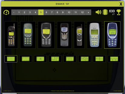 Snake '97: retro phone classic- screenshot thumbnail