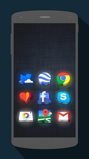 LED 3D Icon Pack