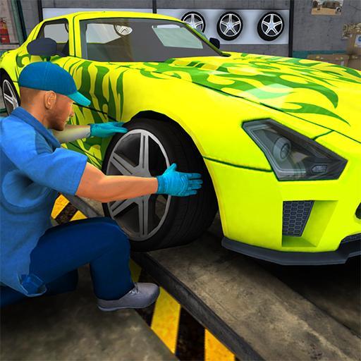 模擬App|車のメカニックシミュレータゲームの3D LOGO-3C達人阿輝的APP