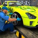 Car Mechanic Simulator Game 3D Icon