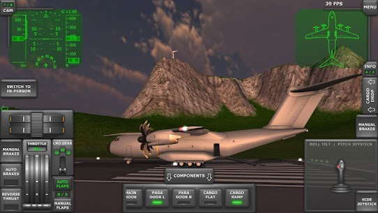 Turboprop Flight Simulator 3D Apk Download For Android and Iphone 2