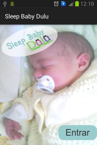 Sleep Baby Dulu