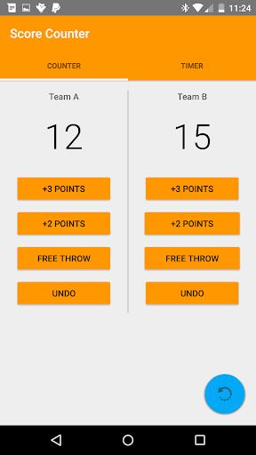 Basketball Score Counter Timer