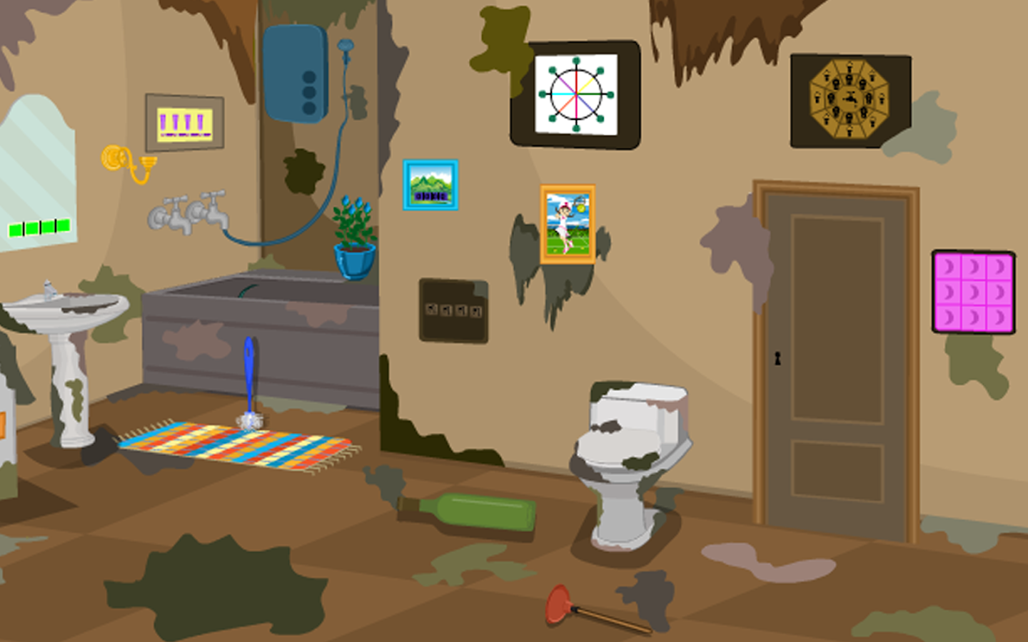 3d escape messy bathroom android apps on google play