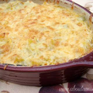 Lightened Up Artichoke and Green Chile Dip