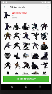 Avengers What'sApp Stickers (SuperHero Stickers) Screenshot