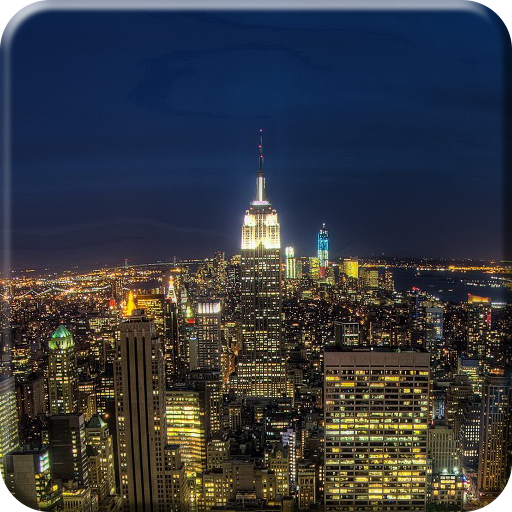 USA at Night Live Wallpaper 個人化 App LOGO-APP試玩