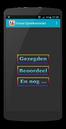 Franse Nederlandse Gezegden