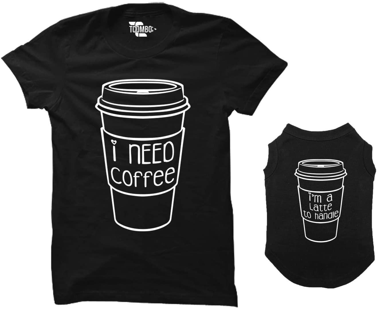 gifts for dog moms matching coffee shirts