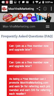 MaxViralmarketing – Get Traffic To Your Website for PC-Windows 7,8,10 and Mac apk screenshot 4