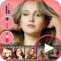 Hot Girl Video Maker icon