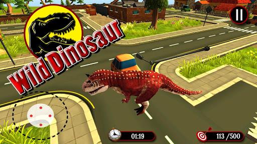 Wild Dinosaur Simulator 3D  captures d'écran 1