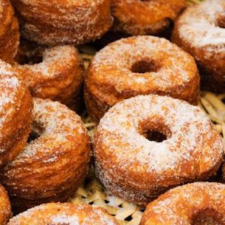 Sugar Crescent Doughnuts