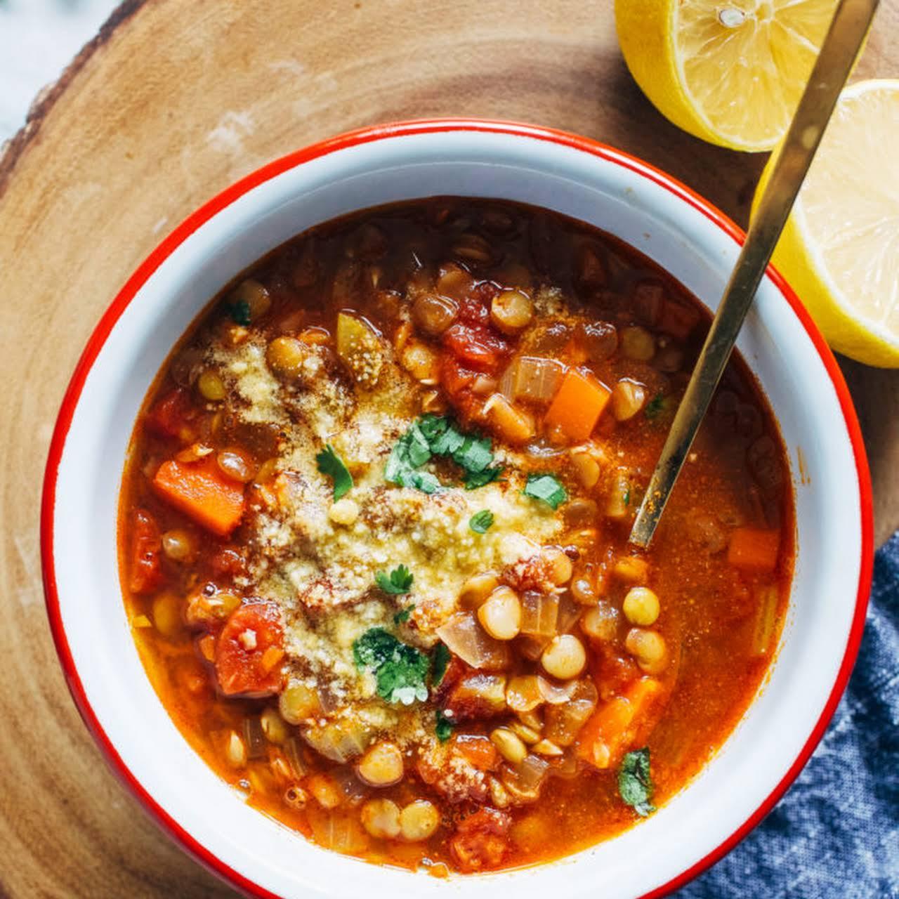 The Best Lentil Soup