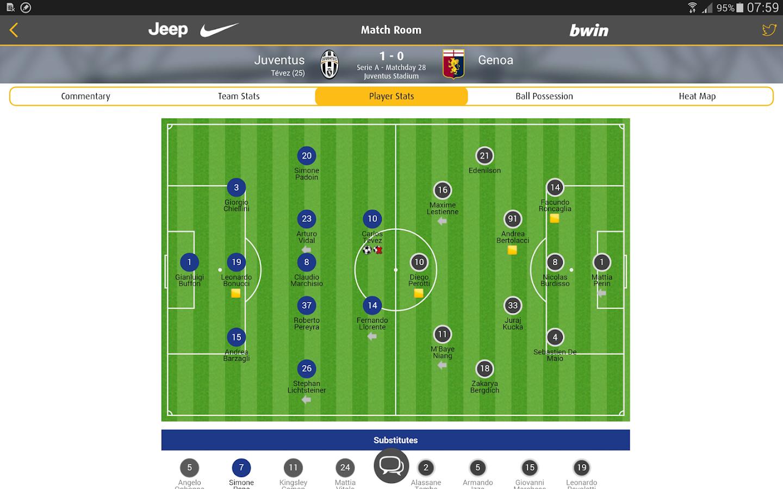 Juventus Live - screenshot
