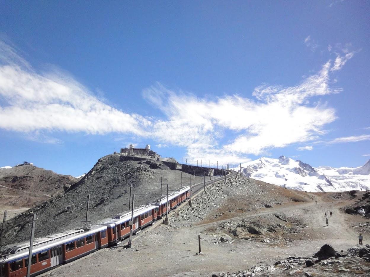 Train à crémaillère Zermatt-Gornergrat