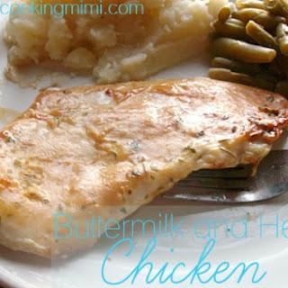 Buttermilk Herb Chicken