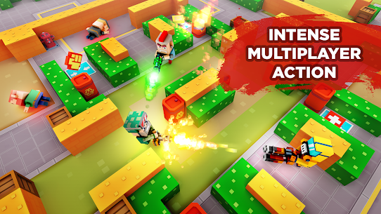 Pixel Arena Online Multiplayer Blocky Shooter 1.20.0 MOD (Unlimited Coins/Crystals) Apk 1