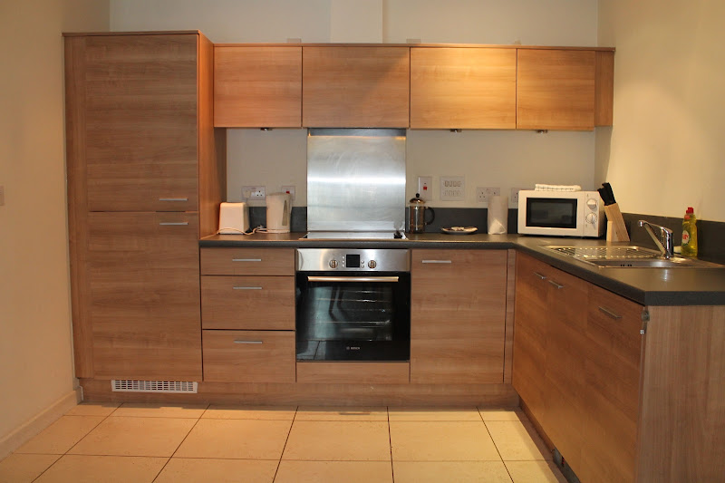 modular kitchen area city reach rental apts