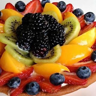 Homemade Fresh Fruit Tart.