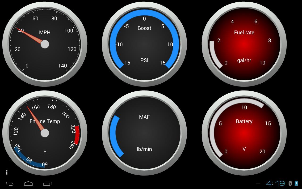 OBDLink (OBD car diagnostics)- screenshot