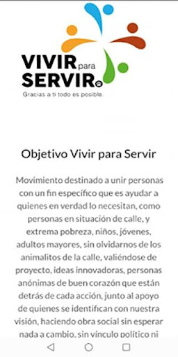 Vivir para Servir screenshot 5