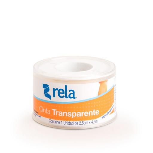adhesivo rela cinta transparente 2,5 cm x 4,5 m