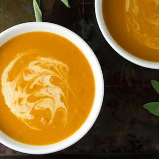 Creamy Butternut Squash and White Bean Soup