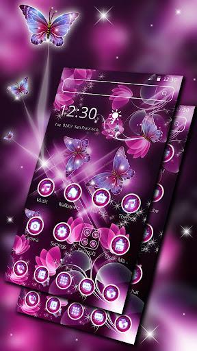 Sparkle Butterfly Theme screenshots 3