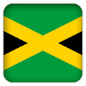 Selfie with Jamaica flag icon