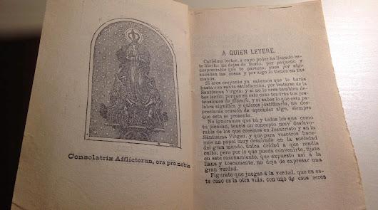 Hallan un ejemplar del primer libro divulgativo sobre la Pequeñica