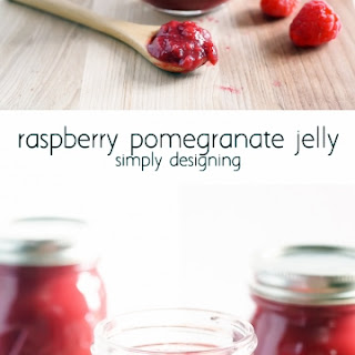 Raspberry Pomegranate Jelly.