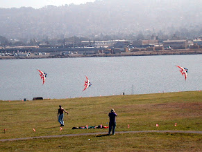 Photo: Ray Bethell, Berkeley Kite Festival