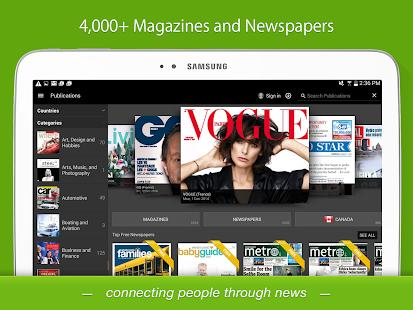 PressReader- screenshot thumbnail