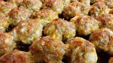Mom's Sausage Cheese Balls