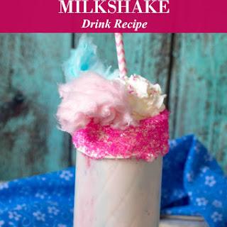 Cotton Candy Milkshake.
