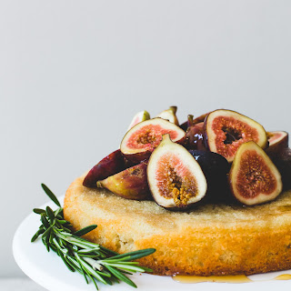 Honey Fig Almond Cake
