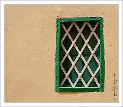 Photo: Green & White Window